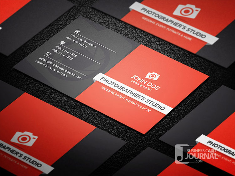 10 best photography business card templates for Photography business card template photoshop