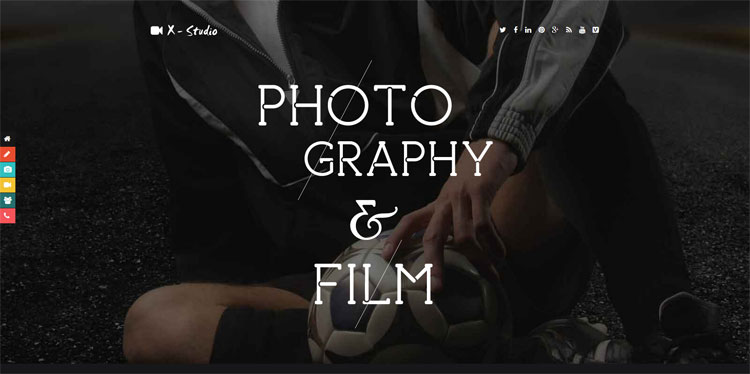 x-studio-photography-bootstrap-template