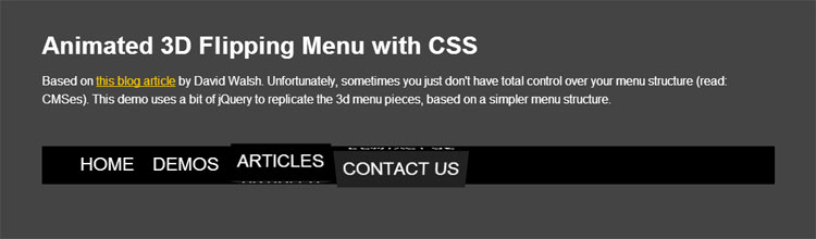 animated-3d-flipping-menu-with-css