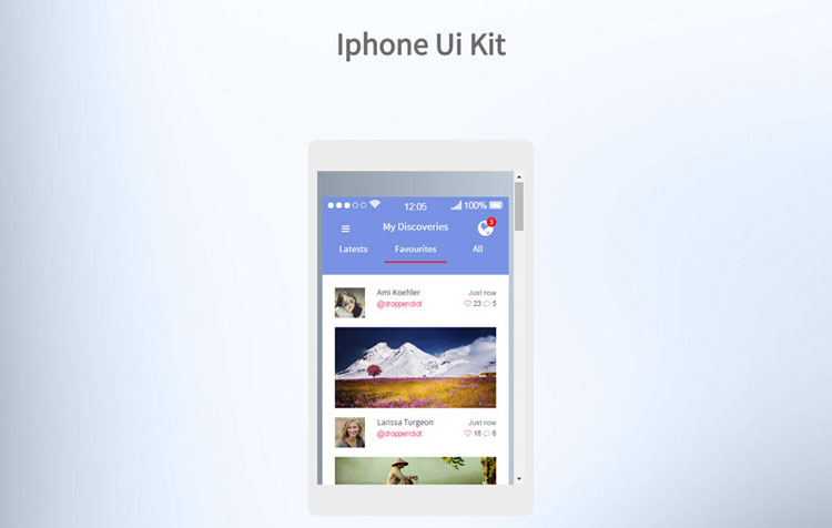 iphone-bootstrap-ui-kit