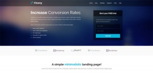 cleany-html5-landing-page