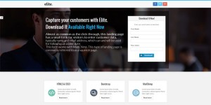 elite-bootstrap-landing-page-template
