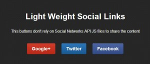 light-weight-social-links