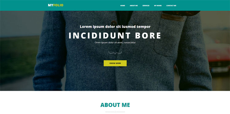 my-folio-bootstrap-theme