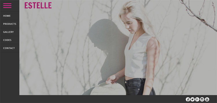 estelle-bootstrap-fashion-template