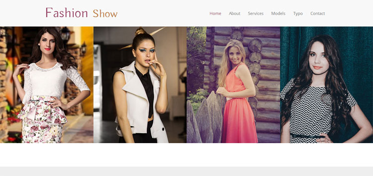 fashionshow-bootstrap-fashion-template