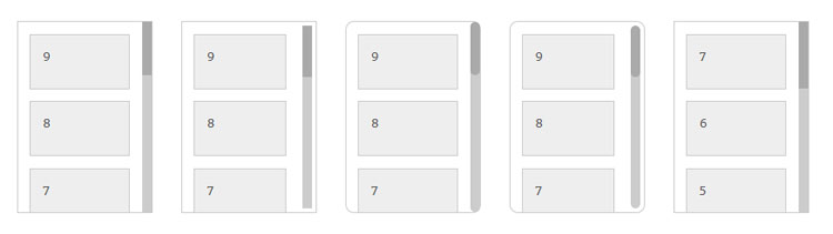 jquery-vertical-scrollpanel