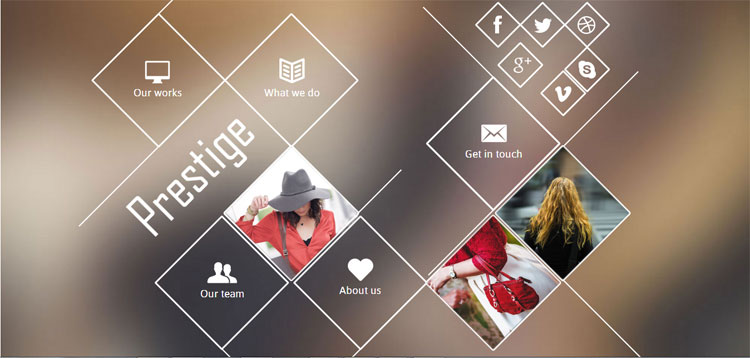 prestige-bootstrap-fashion-template