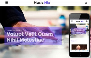 music-mix-bootstrap-template