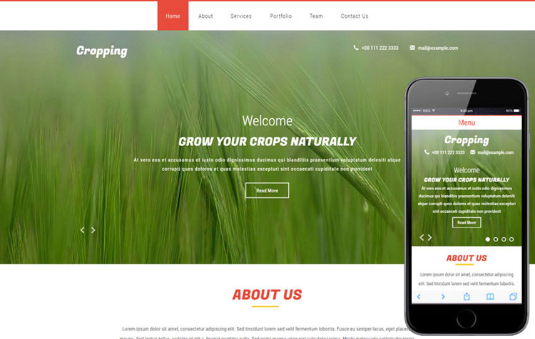 cropping-agriculture-bootstrap-template