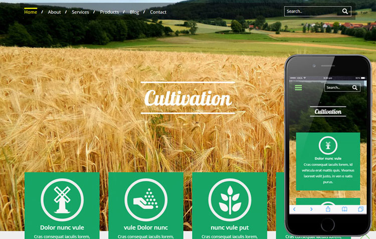 cultivation-agriculture-bootstrap-template