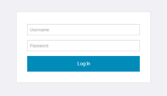 foundation-5-login-form
