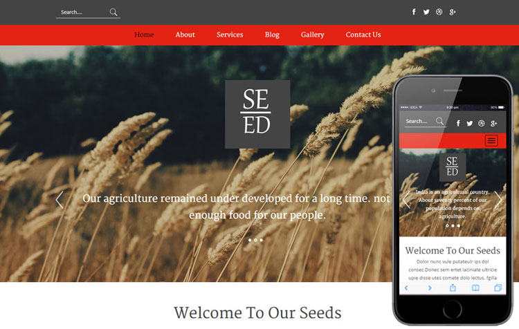 seed-agriculture-bootstrap-template