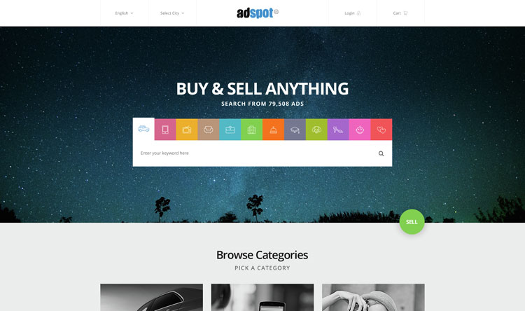 adspot-classified-psd-template