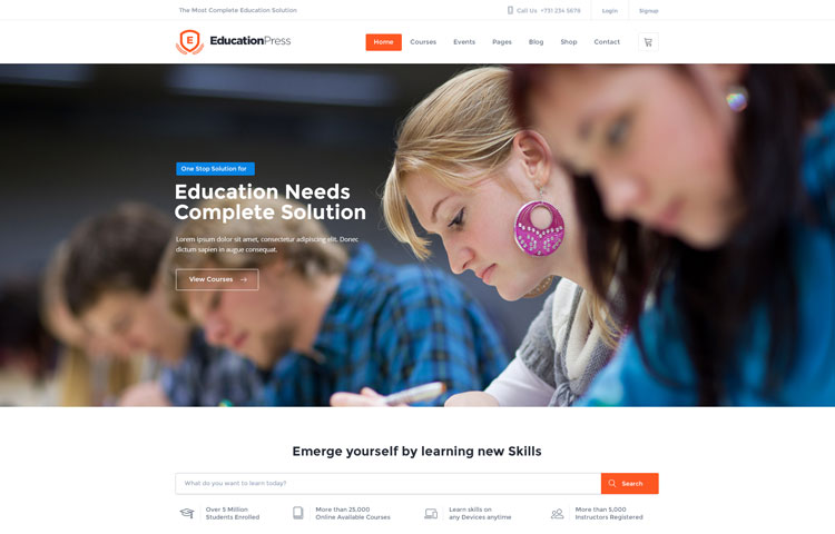 educationpress-psd-template