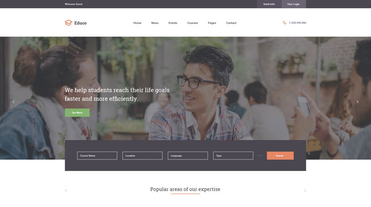 educo-psd-template