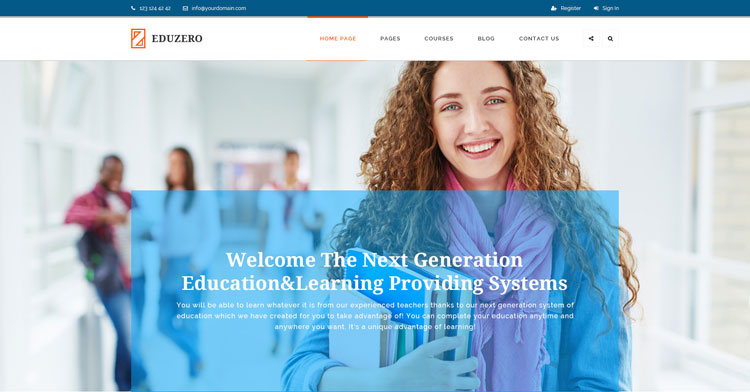 eduzero-education-psd-mockup