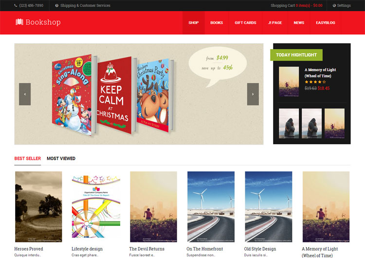 ja-bookshop-joomla-bookshop-ecommerce-template