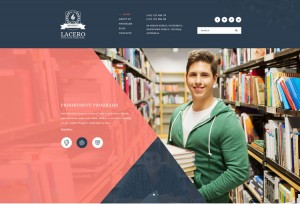 lacero-educational-psd-template