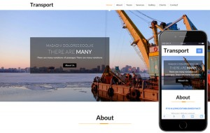 transport-industrial-bootstrap-template