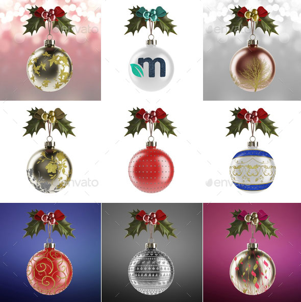 christmas-ball-and-greetings-mockup
