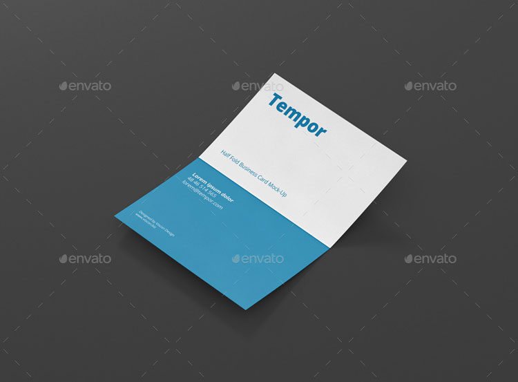 folded-business-card-mockup