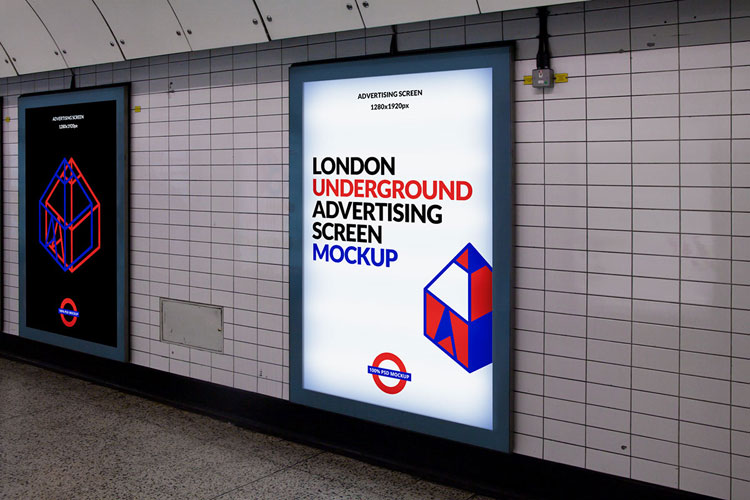 free-london-underground-ad-screen-mockup