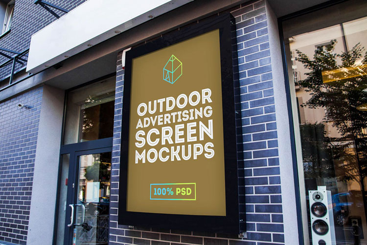 free-outdoor-advertising-screen-mockup
