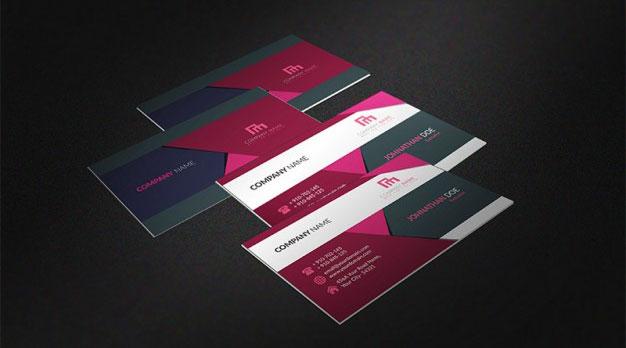 multicolor-business-card-mockup