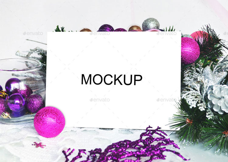 purple-christmas-card-mockup