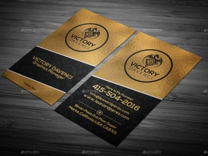 vintage-gold-corporate-business-card
