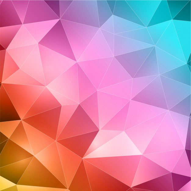 colorful-abstract-polygonal-background
