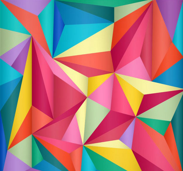 geometric-triangle-polygonal-background