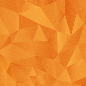 orange-polygonal-background