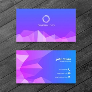 polygonal-business-card-free-psd