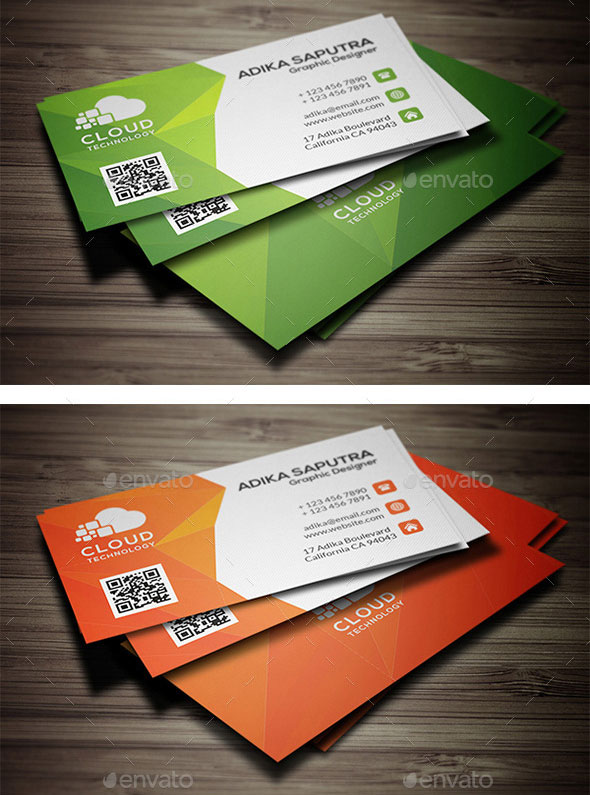 polygonal-creative-business-card-template