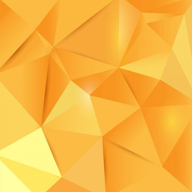 polygonal-yellow-background