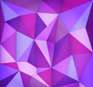 purple-triangle-polygonal-background