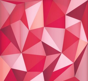 red-polygonal-background-free-vector