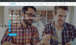 the-project-multipurpose-template