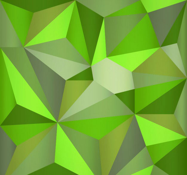 triangle-green-polygonal-background
