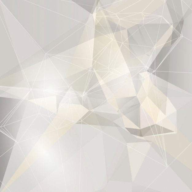 white-polygonal-background