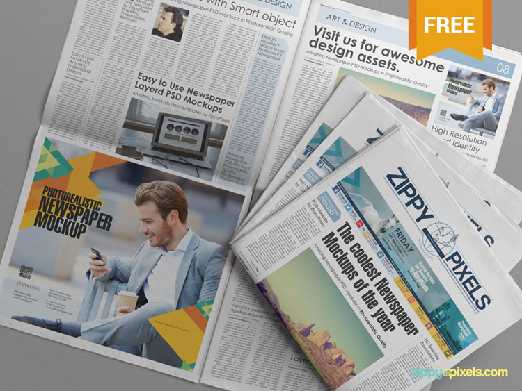 free-psd-newspaper-advertising-mockup